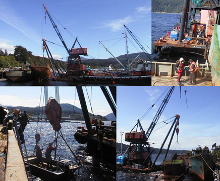 Hydra Marine Services lifting vessels